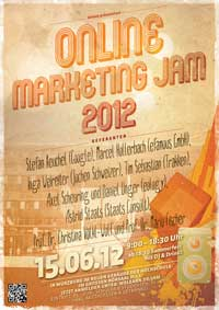 Plakat-Online-Marketing-Jam-2012